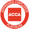 ACCA Approved Employer Platinum