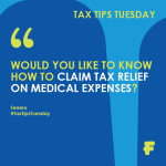 Tax Tips Tuesday - claim medical expenses
