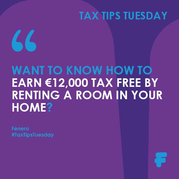 Want to know how to earn €12,000 Tax Free by renting a room in your home?