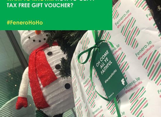 Tax free gift voucher - Fenero tips