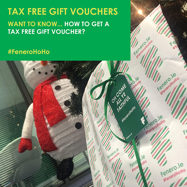 Tax free gift voucher - Fenero tips