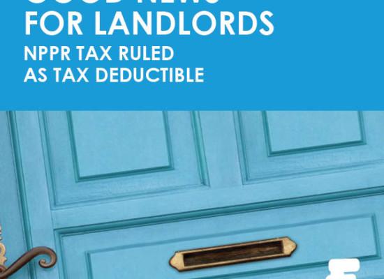Landlord NPPR Tax - Fenero tax advice