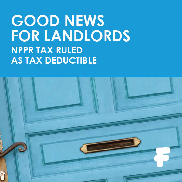 Landlord NPPR Tax - Fenero tax advice
