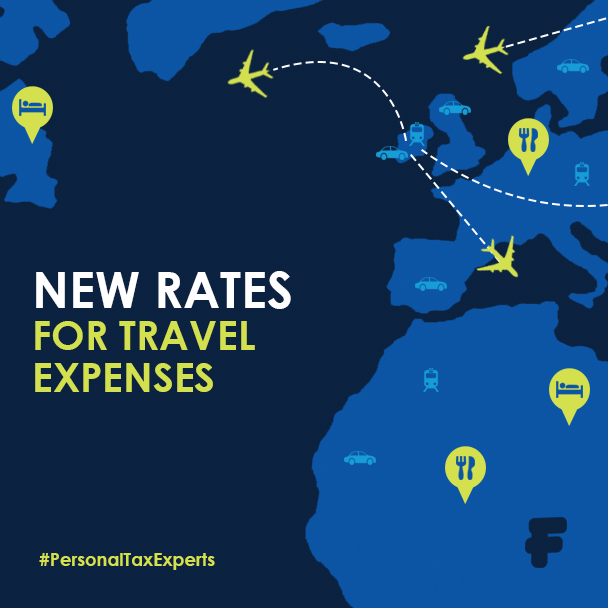 new rates mileage travel expenses fenero
