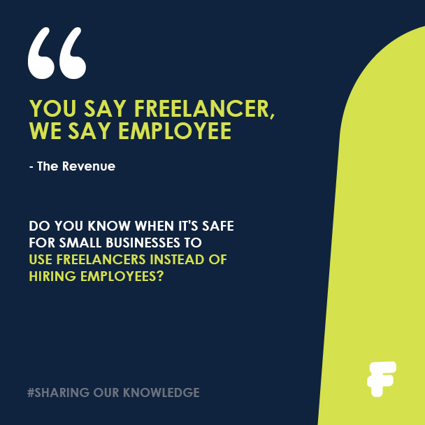 Hiring freelance or employee - Fenero tax advice